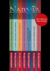 Die Chroniken von Narnia - Alle 7 Teile in einem E-Book (eBook, ePUB)