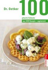 100 vegetarische pikante Gebäcke (eBook, ePUB)