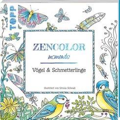 Zencolor moments Vögel & Schmetterlinge