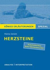 Herzsteine von Hanna Jansen. Königs Erläuterungen Spezial. (eBook, ePUB)