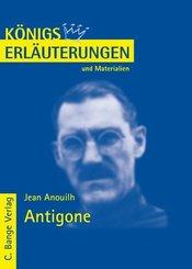 Antigone von Jean Anouilh. Textanalyse und Interpretation. (eBook, PDF)