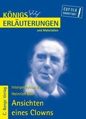 Ansichten eines Clowns von Heinrich Böll. Textanalyse und Interpretation. (eBook, PDF)