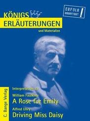 A Rose for Emily von William Faulkner und Driving Miss Daisy von Alfred Uhry. Textanalyse und Interpretation. (eBook, PDF)