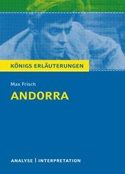 Andorra von Max Frisch. Textanalyse und Interpretation mit ausführlicher Inhaltsangabe und Abituraufgaben mit Lösungen. (eBook, PDF)