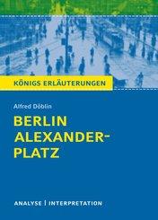 Berlin Alexanderplatz. Königs Erläuterungen. (eBook, ePUB)