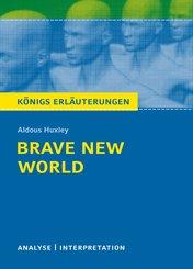 Brave New World - Schöne neue Welt. Königs Erläuterungen. (eBook, ePUB)