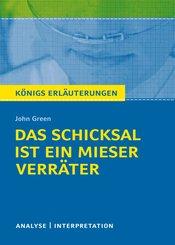 Königs Erläuterungen: Das Schicksal ist ein mieser Verräter von John Green (eBook, ePUB)
