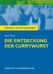 Die Entdeckung der Currywurst. Königs Erläuterungen. (eBook, ePUB)