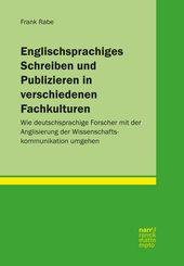 Englischsprachiges Schreiben und Publizieren in verschiedenen Fachkulturen (eBook, PDF)