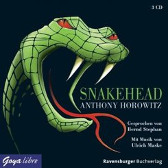 Snakehead, 3 Audio-CDs