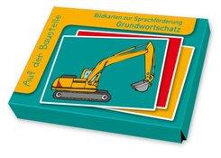 Grundwortschatz: Auf der Baustelle (Bildkarten)