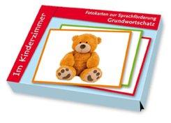 Grundwortschatz: Im Kinderzimmer, m. 32 Bildkarten