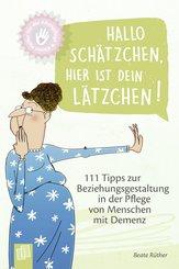 Kleine Helfer für die Altenpflege: Hallo Schätzchen, hier ist dein Lätzchen! (eBook, ePUB)