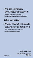 »Wo die Exekutive ihre Finger einzieht«?/»Where executives would never want to tamper«? (eBook, PDF)