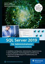 SQL Server 2019 für Administratoren (eBook, ePUB)