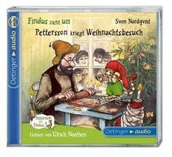 Findus zieht um / Pettersson kriegt Weihnachtsbesuch, 1 Audio-CD
