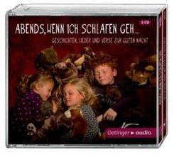 Abends, wenn ich schlafen geh, 3 Audio-CDs