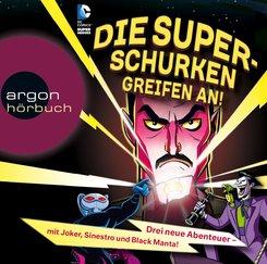 Die Superschurken greifen an!, 2 MP3-CDs