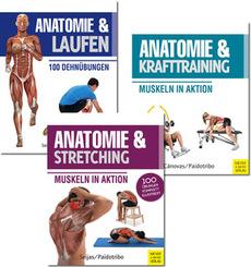 Anatomie und Sport-Bundle - Buchpaket (3 Bücher)