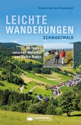 Leichte Wanderungen Schwarzwald. Wanderführer mit 50 Touren zwischen Waldshut und Baden-Baden. (eBook, ePUB)