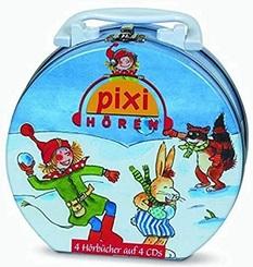Pixi hören - Mein Hörbuch-Koffer (16 Geschichten auf 4 CDs)