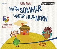 Mein Sommer unter Hühnern, 4 Audio-CDs - Tl.1