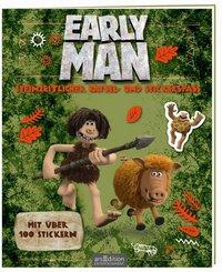 Early Man - Steinzeitlicher Rätsel- und Stickerspaß