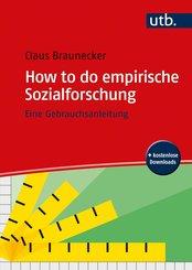 How to do empirische Sozialforschung (eBook, ePUB)