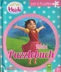 Heidi - Mein Puzzlebuch
