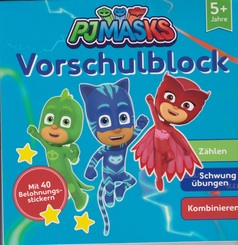PJMasks - Vorschulblock