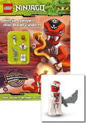 LEGO® NINJAGO™ Minifigur (Snappa) + Buch - Ninjas gegen die Beißvipern