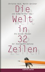 Die Welt in 32 Zeilen (eBook, ePUB)
