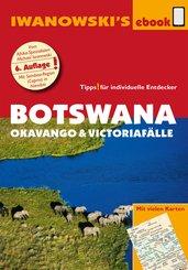 Botswana - Okavango und Victoriafälle - Reiseführer von Iwanowski (eBook, ePUB)