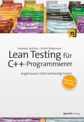 Lean Testing für C++-Programmierer (eBook, PDF)