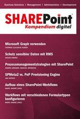 SharePoint Kompendium - Bd. 15 (eBook, ePUB)
