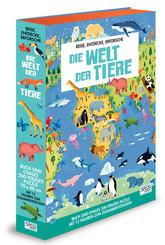 Die Welt der Tiere (Buch + Puzzle)