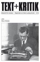 TEXT+KRITIK 200 - Hans Fallada (eBook, PDF)