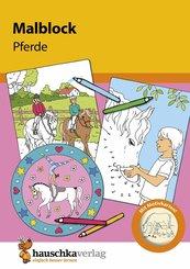 Malblock - Pferde (eBook, PDF)