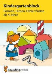 Kindergartenblock - Formen, Farben, Fehler finden ab 4 Jahre (eBook, PDF)