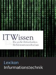 Lexikon Informationstechnik (eBook, PDF/ePUB)