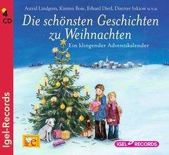 Die schönsten Geschichten zur Weihnachtszeit, 4 Audio-CDs
