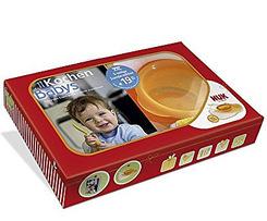 Kochen für Babys Geschenkbox: Buch + NUK-Esslern-Schale und 2 Lätzchen