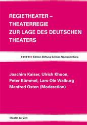 Regietheater Theaterregie