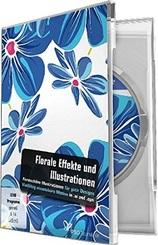 Vektorbasierte florale Effekte und Illustrationen