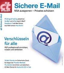c't wissen Sichere E-Mail (2014) (eBook, PDF)