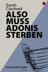 Also muss Adonis sterben (eBook, ePUB)