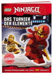LEGO® NINJAGO™ - Das Turnier der Elemente - Rätsel-Stickerspaß mit über 200 Stickern