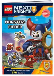 LEGO® NEXO KNIGHTS™ - Monsterfieber - Rätsel-Stickerspaß mit über 270 Stickern