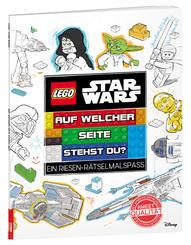 LEGO® Star Wars™ - Auf welcher Seite stehst du? Ein Riesen-Rätselmalspaß