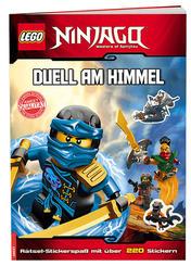 LEGO® NINJAGO™ - Duell am Himmel - Rätsel-Stickerspaß mit über 220 Stickern